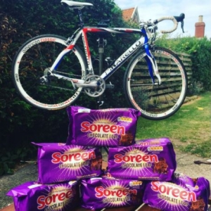 Chocolate Soreen Bike