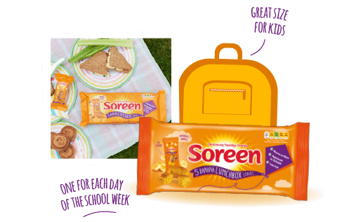 Soreen Banana Lunchbox Loaf