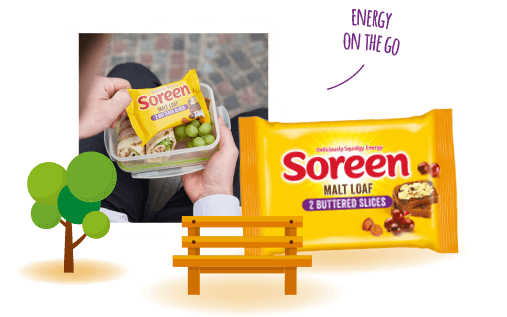 Soreen pre-buttered slices