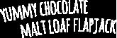 Chocolate Malt Loaf Flapjacks